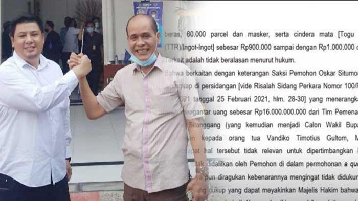 Martua Sitanggang Mantan Kadis PU Kota Jambi Sebentar Lagi Dilantik Menjadi Wakil Bupati Samosir