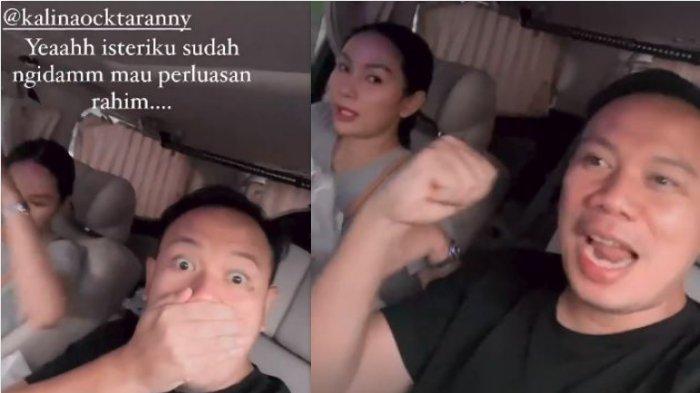 Vicky Prasteyo Syok Saat Singgung Janin Kalina Ocktaranny, Mendadak Minta Ini: Ya Allah!