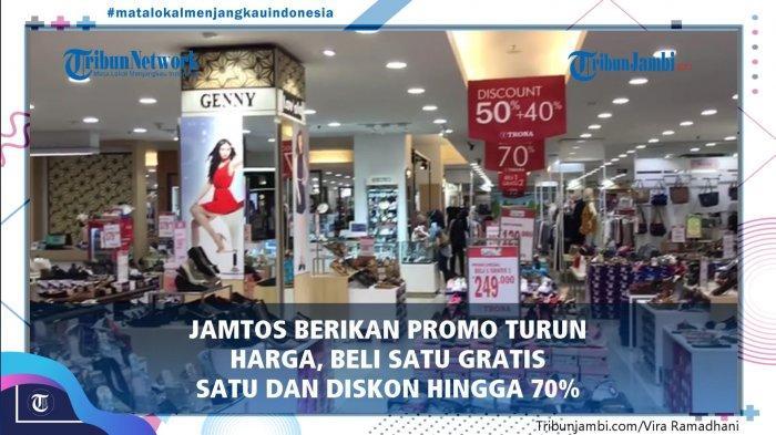 Aneka Sandal dan Sepatu Serba Rp69 Ribu, Promo Turun Harga di Jamtos