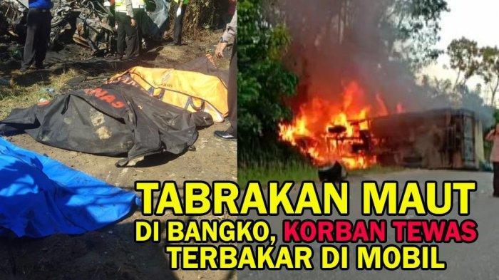 UPDATE TERBARU! Korban Kecelakaan Maut Avanza Terbakar di Merangin Jasadnya Mulai Dikenali