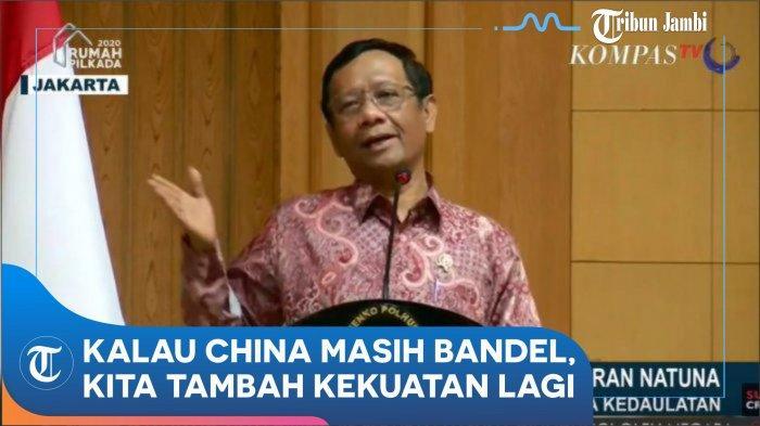 Mahfud MD Sebut Dubes China Minta Nelayannya Ganti Profesi dan Jangan Cari Ikan di ZEE Indonesia