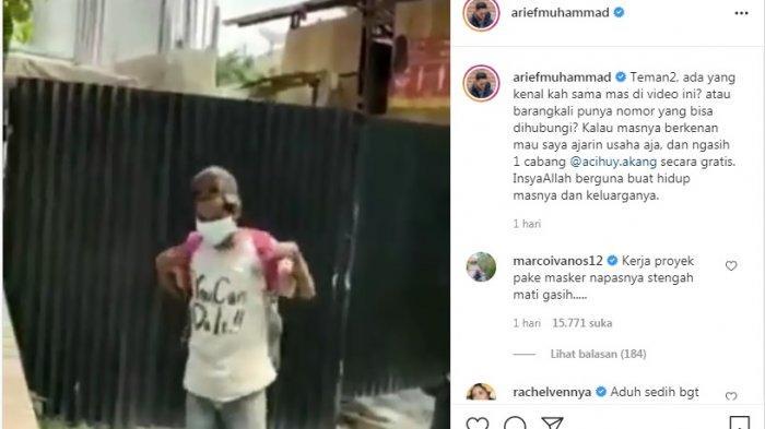 CURHAT Pilu Kuli Bangunan Viral yang Dipecat Gara-gara Tak Pakai Masker, Kini Ditawari Buka Usaha