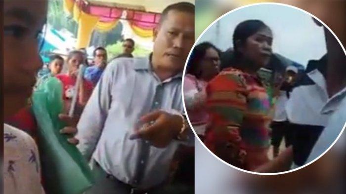 VIDEO VIRAL: Suami Nikah Lagi, Siska Lusiana Sirait Istri Sah Penganti Pria Bikin Laporan ke Polda
