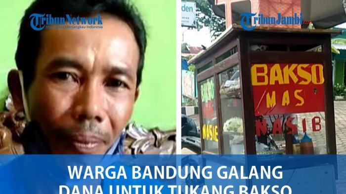 VIDEO Warga Bandung Galang Dana Untuk Tukang Bakso yang Ditendang
