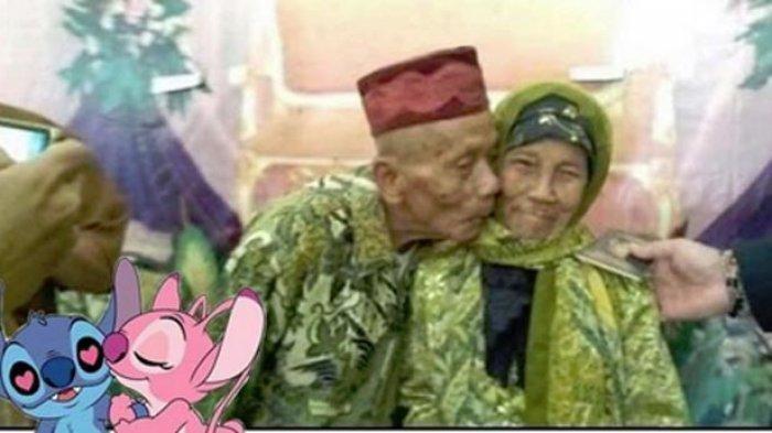 Jadi Perbincangan di Media Sosial, Kisah Kakek 92 Tahun Menikahi Nenek 79 Tahun Karena Hal Unik