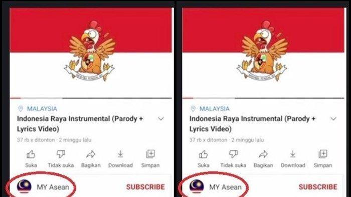 Tak Tinggal Diam, Polri Usut Soal Parodi Lagu Indonesia Raya, Siber Bareskrim Buru YouTube MY Asean