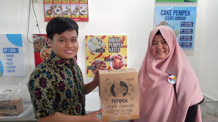 UMKM Jambi, Pempek Izzati Jannah Produksi Lebih Dari 1.200 Pempek Dalam Sehari