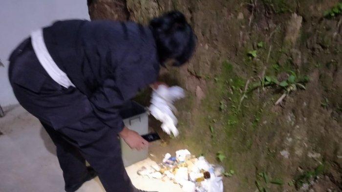 Kuburan Nenek di Sungai Penuh Malah Dijadikan Tempat Mabuk, Polisi Lakukan Penelusuran