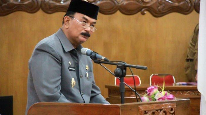 Hadiri Paripurna, Wabup Amir Sakib Sampaikan 7 Rancangan Peraturan Daerah