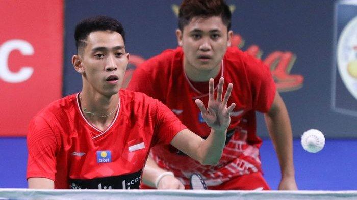 Raih Medali Emas, Wahyu/Ade Tumbangkan Malayia di Final Beregu Putra SEA Games 2019