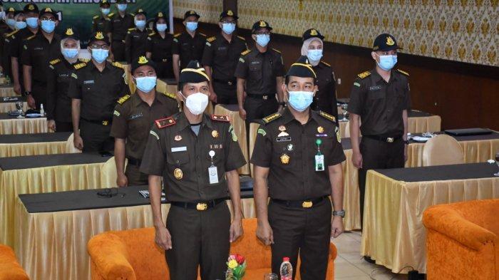 Wakajati Jambi, Dr Hermon Dekristo, SH MH menghadiri pembukaan diklatsar CPNS Angkatan 1 Golongan III RI.