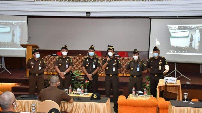 Wakajati Jambi ikuti Pembukaan Diklatsar CPNS Angkatan 1 Golongan III RI dari Jambi