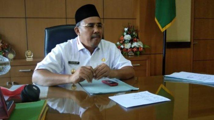 Wakil Bupati Sarolangun Hillalatil Badri paparkan data Covid-19 dan realisasi vaksin di Sarolangun