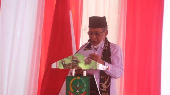 Wakil Gubernur Jambi Drs. H. Abdullah Sani, M.Pd.I mengemukakan, TMMD merupakan wujud sinergitas Pemerintah Daerah dengan TNI.
