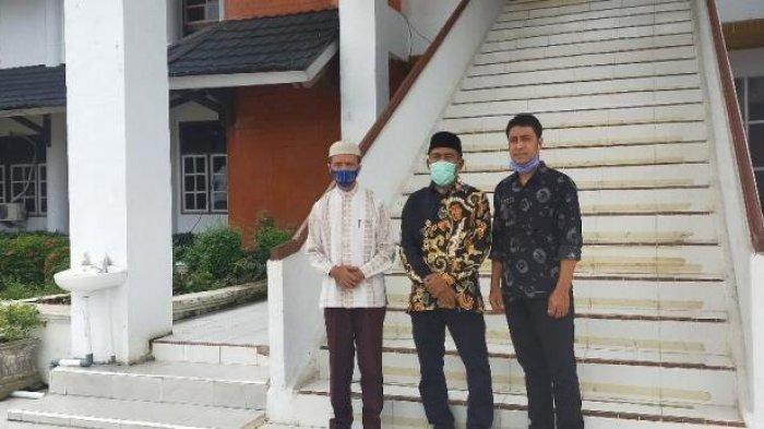 Anggota DPRD Merangin Sibuk Dinas, Kunjungan Pimpinan DPRD Damasraya Hanya Ditemui Kabag Persidangan