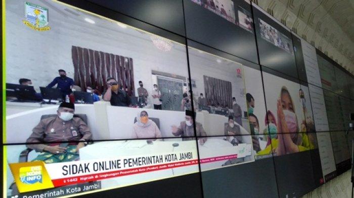 Wakil Wali Kota Jambi Sidak Online Hari Pertama Kerja, Antisipasi ASN Titip Absen
