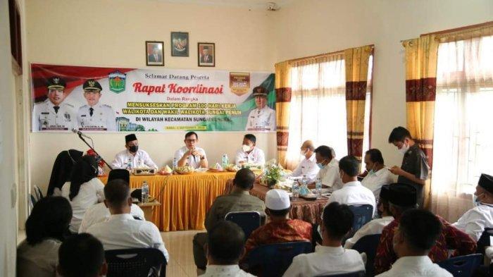 Wako Ahmadi Berkantor Sehari di Kecamatan