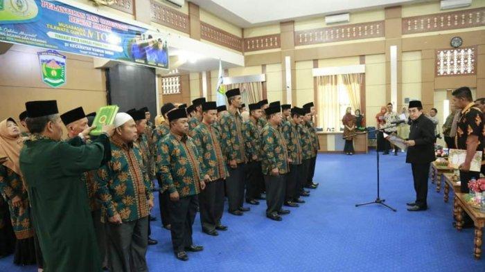 Wako AJB Lantik dan Ambil Sumpah Dewan Hakim MTQ Tingkat Kota Sungaipenuh