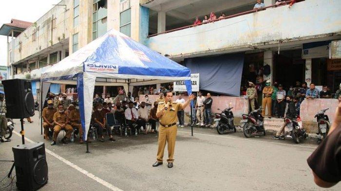 100 Lapak Untuk PKLdi Sungaipenuh, Lokasi di Jalan Teuku Umar