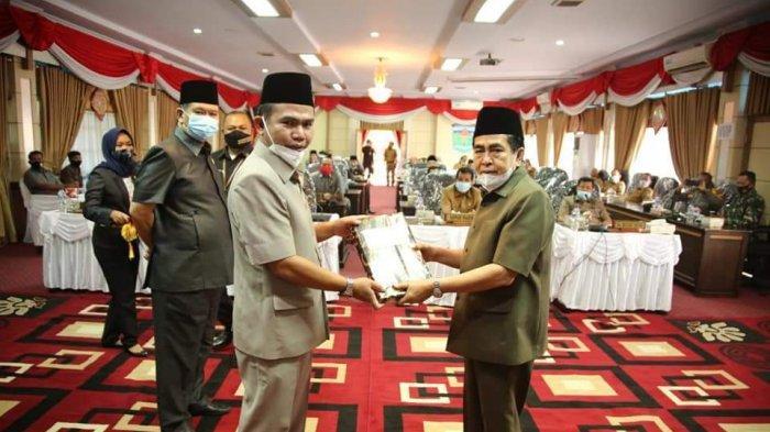 Pengantar Ranperda APBD 2021 Kota Sungaipenuh, Wako Prioritas Infrastruktur Jalan, Irigasi, Jaringan