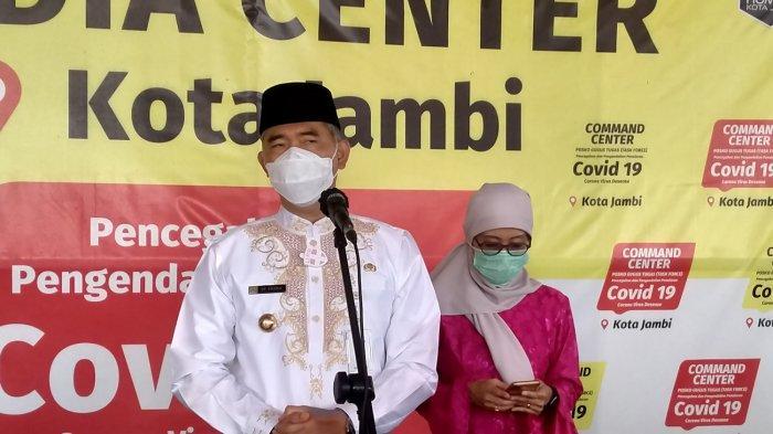 Wali Kota Jambi, Syarif Fasha di Mako Damkar