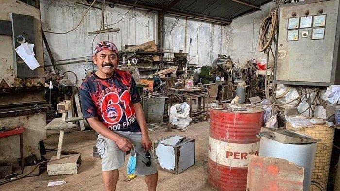 Kisah FX Hadi Rudyatmo Setelah Tak Lagi Jadi Wali Kota Solo, Kini Menjadi Tukang Las