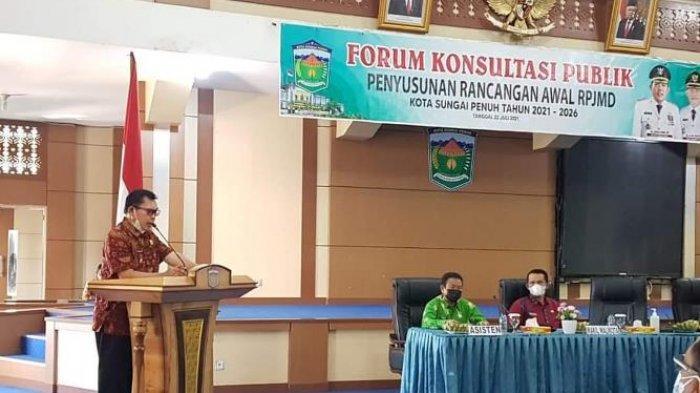 Wali Kota Sungai Penuh Ahmadi ZUbir Minta SKPD Punya Target Kinerja 5 Tahun ke Depan