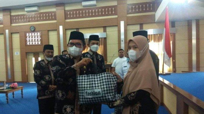 Wali Kota Sungai Penuh Lepas Keberangkatan Kafilah untuk MTQ Tingkat Provinsi Jambi