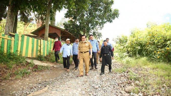 Jalan Menuju SMP IT Amanah Mendapat Perhatian Pemkot, Wali Kota Sungai Penuh Langsung Tinjau Lokasi