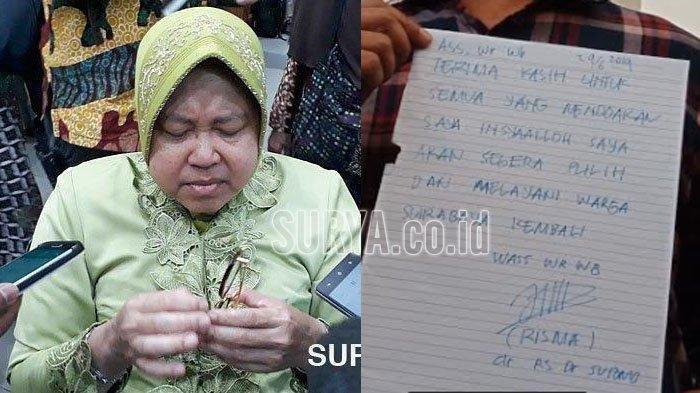 Diangkat Menjadi Mama Papua, Mengapa Walikota Surabaya Tri Risma Malah Bersedih: Saya Mohon Maaf