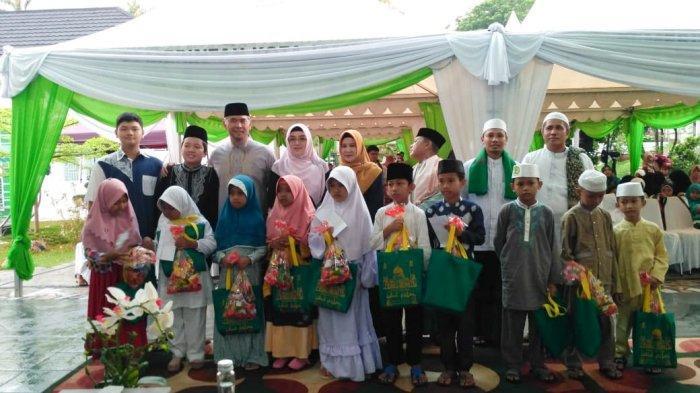 Walikota Fasha Buka Puasa Bersama 500 Anak Yatim & Dhuafa, Fasha: 'Kewajiban Kita Muliakan Mereka'