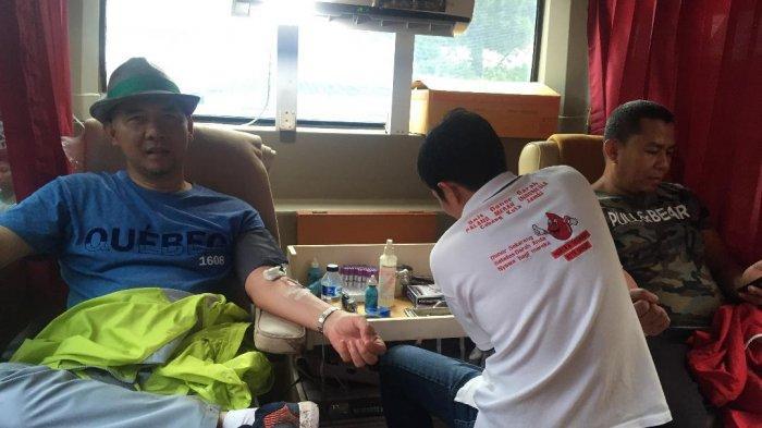 Peserta Jalan Sehat Tribun Jambi, Ikut Donor Darah, Fasha: Bermanfaat Bagi Penerima Maupun Pendonor