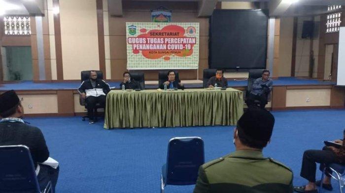 Wako AJB Evaluasi Pendistribusian Bantuan Pangan ke Ribuan Kepala Keluarga Terdampak Corona