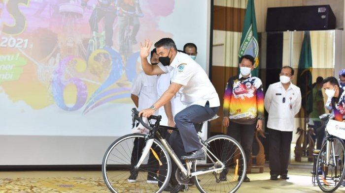 Sukses Besar, Gowes Virtual Kota Jambi Akan Jadi Event Tahunan Nasional