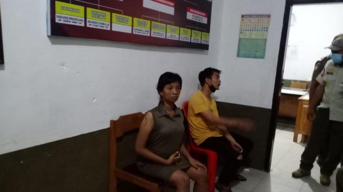 Wanita Hamil Tertangkap Ngelem Saat Operasi Cipta Kondisi Satpol PP