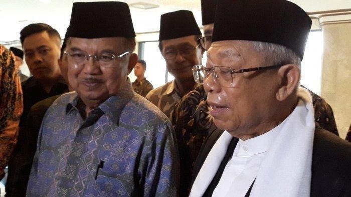 Wapres Terpilih Maruf Amin Bocorkan Perkembangan Susunan Menteri Kabinet Terdiri dari 2 Golongan