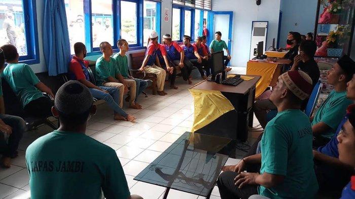 23 Warga Binaan Lapas Klas IIA Jambi Dapat Remisi Natal