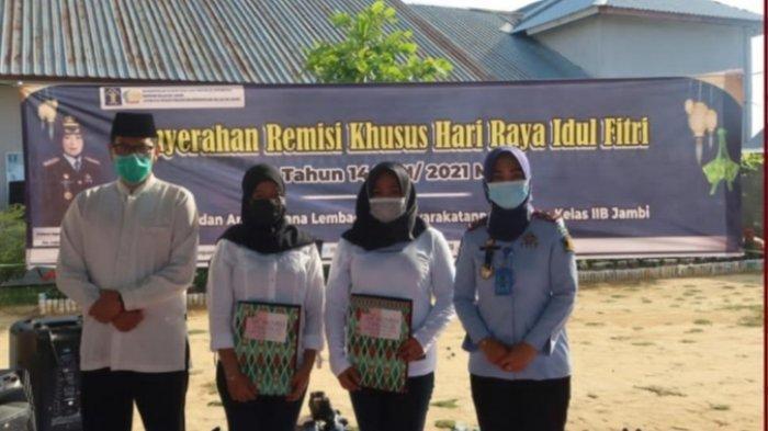 92 Orang Warga Binaan Lapas Perempuan Klas IIB Muarojambi Dapat Remisi Khusus Hari Raya Idul Fitri