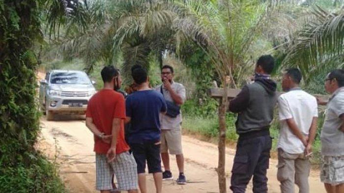 Warga Desa Suak Putat Blokir Jalan, Pihak Perusahaan Minta Proses Hukum Tetap Berlanjut
