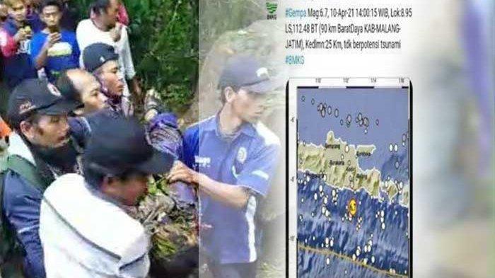 UPDATE GEMPA MALANG : Satu Orang Warga di Lumajang Tewas Tertimpa Batu