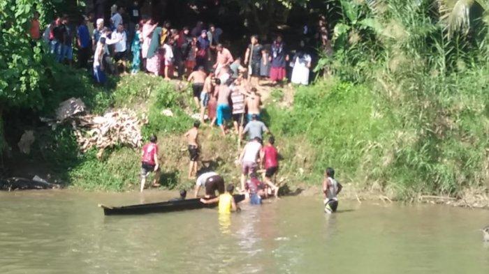 Warga Desa Birun Hendak Menyelamatkan Perahu yang Hanyut, Tapi Hilang Terbawa Arus