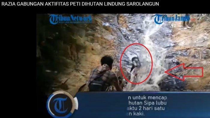Warga Temukan Air Terjun Misterius saat Razia PETI di Sarolangun, Jalan Kaki ke Hutan Lubuk Bedorong