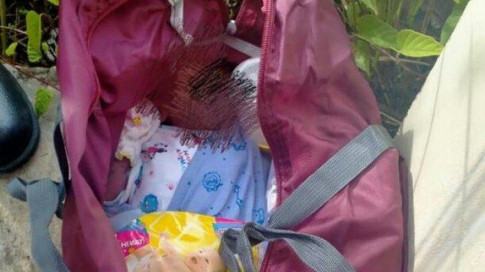 Diduga Dibuang Orang Tuanya, Warga Bungo Temukan Bayi di Dalam Tas Lengkap dengan Peralatannya