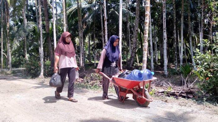 Jangan Kuatir, Warga Bisa Dapatkan Pasokan Air Bersih Melalui SPAM, Kekeringan di Tanjab Timur