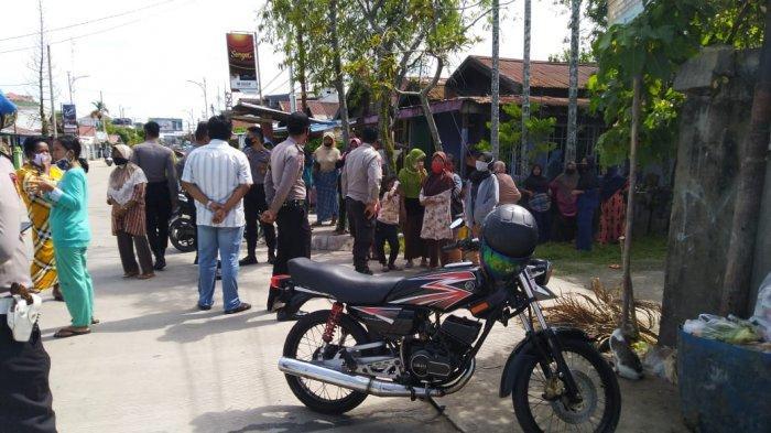 Wakil DPC Gerindra Tanjab Barat Bantah Pihaknya Gelar Pembagian Sembako di Kantornya
