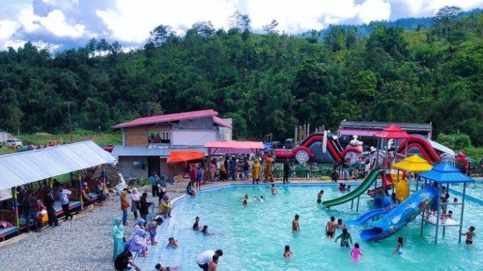 Wisata Akhir Pekan di Kerinci, Waterpark Pancoe7 Tempat Seru-Seruan Bersama Keluarga di Kolam Renang