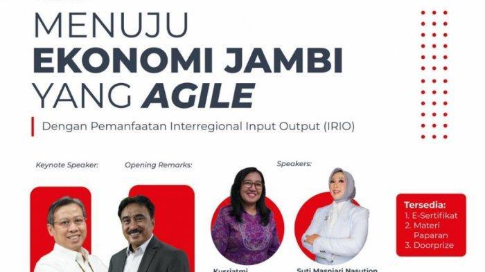 BPS Provinsi Jambi Adakan Wabiner dan Kenalkan Produk Terbarunya