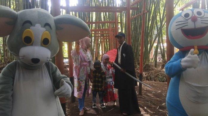 Mendengar Nyanyian Alam di Wisata Alam Hutan Bambu Buluh Perindudi Kerinci