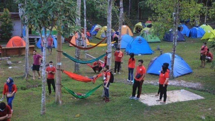 Wisata Akhir Pekan di Jambi, Alam Sebapo, Camping Bersama Keluarga, Konsep Kekinian dan Murah Meriah