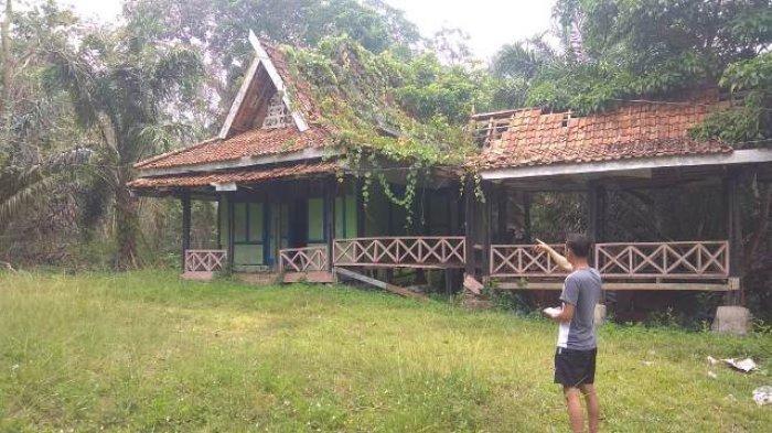 Pernah Populer, Kini Wisata Arboretum Rio Alif Bangko Tak Terurus